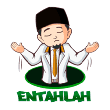 Kang Adil the Wise Moslem sticker #11106379