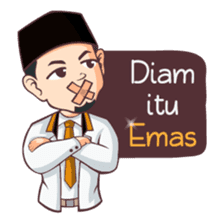 Kang Adil the Wise Moslem sticker #11106381