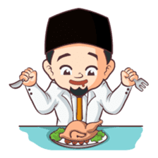 Kang Adil the Wise Moslem sticker #11106382