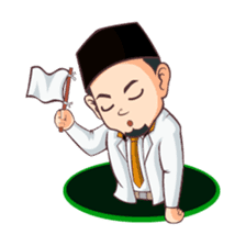 Kang Adil the Wise Moslem sticker #11106384