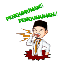 Kang Adil the Wise Moslem sticker #11106385