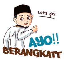 Kang Adil the Wise Moslem sticker #11106388