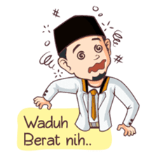 Kang Adil the Wise Moslem sticker #11106389