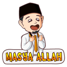 Kang Adil the Wise Moslem sticker #11106399