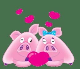 Another Fat and Cute Piku-Pig sticker #11106564