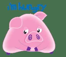Another Fat and Cute Piku-Pig sticker #11106570