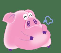 Another Fat and Cute Piku-Pig sticker #11106571