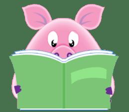 Another Fat and Cute Piku-Pig sticker #11106576