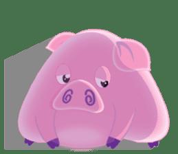 Another Fat and Cute Piku-Pig sticker #11106578