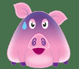 Another Fat and Cute Piku-Pig sticker #11106579