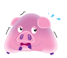 Another Fat and Cute Piku-Pig sticker #11106580