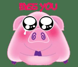 Another Fat and Cute Piku-Pig sticker #11106581