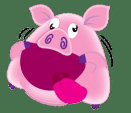 Another Fat and Cute Piku-Pig sticker #11106583