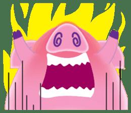 Another Fat and Cute Piku-Pig sticker #11106585
