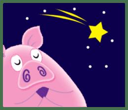 Another Fat and Cute Piku-Pig sticker #11106589