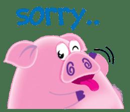 Another Fat and Cute Piku-Pig sticker #11106590
