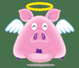 Another Fat and Cute Piku-Pig sticker #11106591