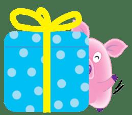 Another Fat and Cute Piku-Pig sticker #11106596