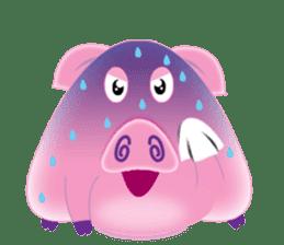 Another Fat and Cute Piku-Pig sticker #11106597