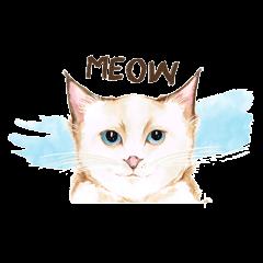 My Cat's Expression Dea Aridina™  elPortale   Sell LINE Sticker, Sell LINE Theme