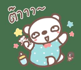 HereMhee lovely bear 2 sticker #11112125