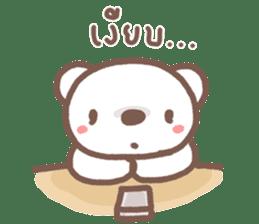 HereMhee lovely bear 2 sticker #11112130