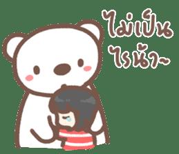 HereMhee lovely bear 2 sticker #11112133