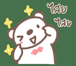 HereMhee lovely bear 2 sticker #11112141