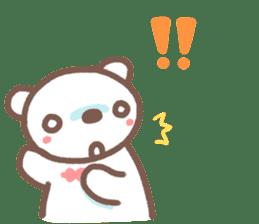 HereMhee lovely bear 2 sticker #11112147
