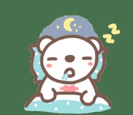 HereMhee lovely bear 2 sticker #11112150
