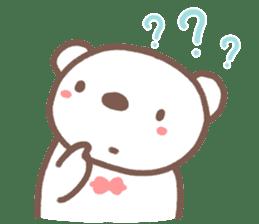 HereMhee lovely bear 2 sticker #11112151