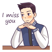 You & I : Daily Talk (Eng) sticker #11113257
