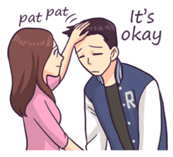 You & I : Daily Talk (Eng) sticker #11113287