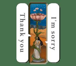 Goddess of flowers -e- sticker #11116432