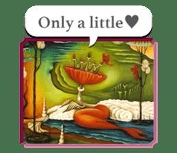 Goddess of flowers -e- sticker #11116439