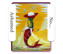 Goddess of flowers -e- sticker #11116464
