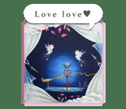 Goddess of flowers -e- sticker #11116467
