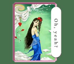 Goddess of flowers -e- sticker #11116469