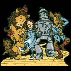 The Wizard sticker of Oz