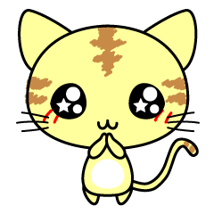 Cute cat stickers -Nyanko part 1 © 2016 chii -My works-| elPortale | Sell LINE Sticker, Sell LINE Theme