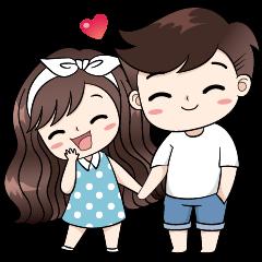 Boobib Cute Couple