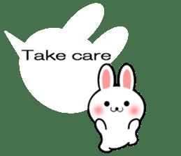 Balloon Rabbit! [English] sticker #11130298