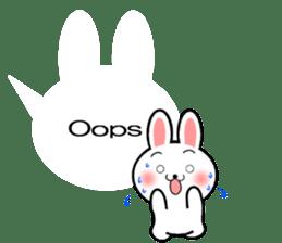 Balloon Rabbit! [English] sticker #11130300
