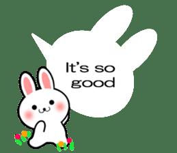 Balloon Rabbit! [English] sticker #11130301