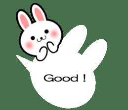 Balloon Rabbit! [English] sticker #11130308