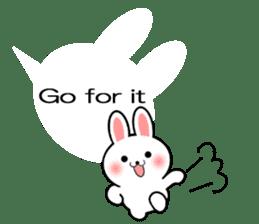 Balloon Rabbit! [English] sticker #11130313
