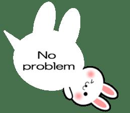 Balloon Rabbit! [English] sticker #11130320