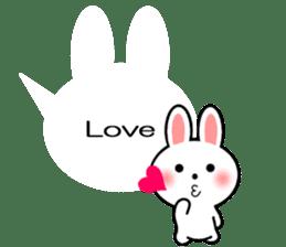 Balloon Rabbit! [English] sticker #11130321