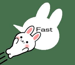 Balloon Rabbit! [English] sticker #11130324