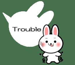 Balloon Rabbit! [English] sticker #11130325